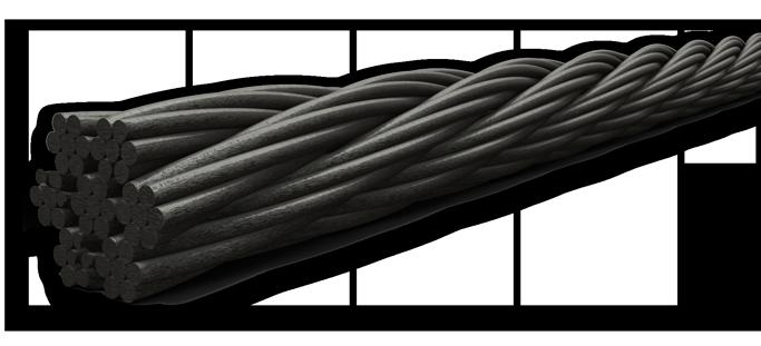 Cable de acero stunning eslinga de cable de acero con un - Cables de acero ...